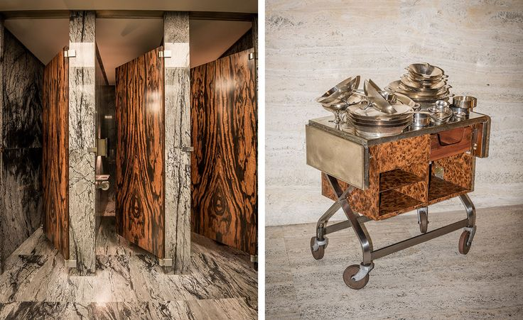 It's just past noon on a late spring day at The Four Seasons Restaurant in New York. Co-owner Julian Niccolini, dressed in polished Oxfords and one of his many custom-made Thom Browne suits, examines the tables allocated for the all-important lunch r...