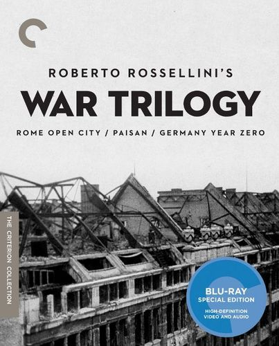 Roberto Rossellini's War Trilogy [Criterion Collection] [Blu-ray]