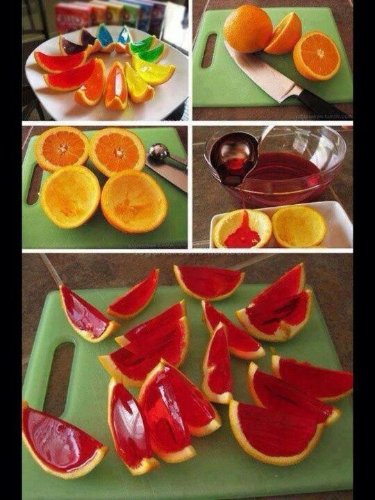 DIY‬ Deliciousness: Colour AWAY your ‪‎oranges‬! Go Jello!