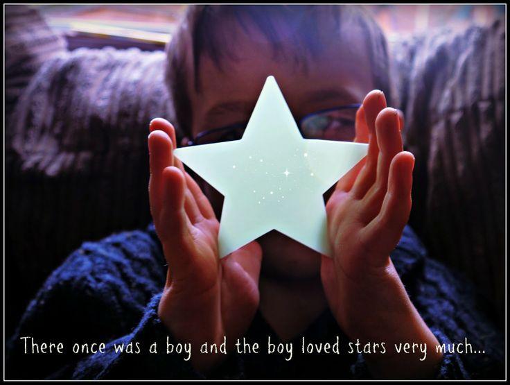 Glow in the dark star