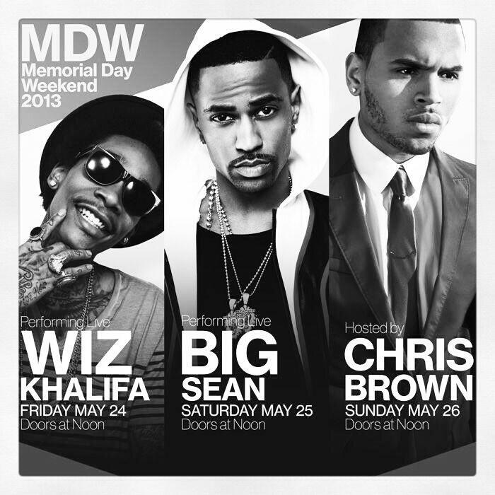 memorial day weekend hip hop events