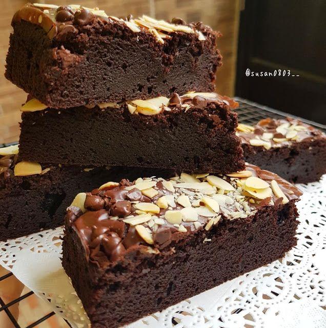 Brownies By Susan0803 Resep Aneka Kue Enak Brownies Cake Food
