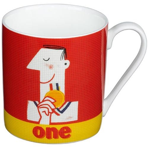 Number 1 Cup by Paul Thurby
