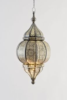 Goodearth - Nagina Filigree Lights - Aqua - Hang it in Indian/Moroccan closet nook