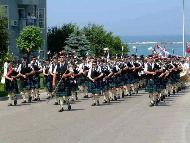 Canada Day - Kincardine Pipe Band