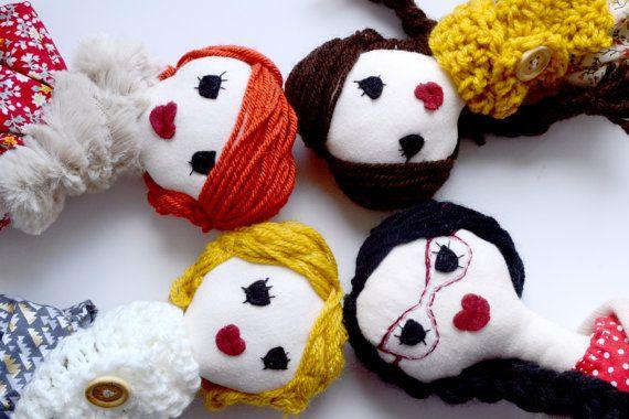 Handmade custom doll! Create your dreaming doll. Handmade in France by Millie & Ubu on Etsy.