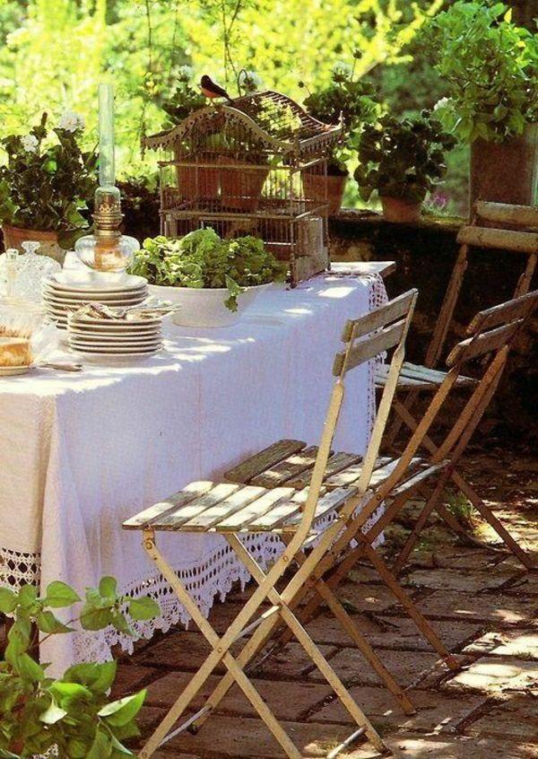 101 Idees Pour La Nappe De Table Un Accessoire Indispensable Jardin Exterieur Pieces A Vivre Dans Le Jardin Et Jardins