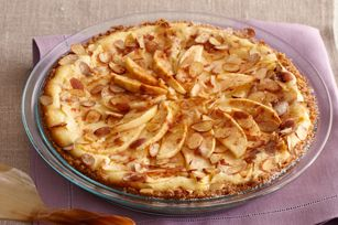 Fall Apple Bavarian Cheesecake from Kraft Foods