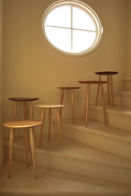 AYLA - Convex side tables