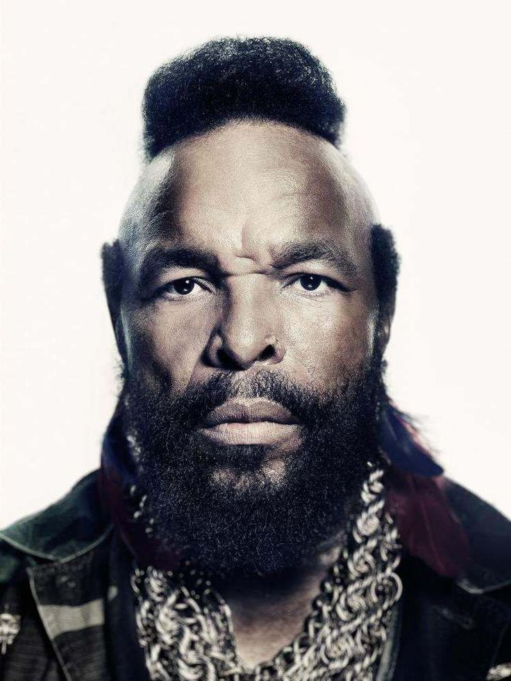 Mr. T   by Marco Grob LIghting! And color treatment... Imagine mouse over to B&W.