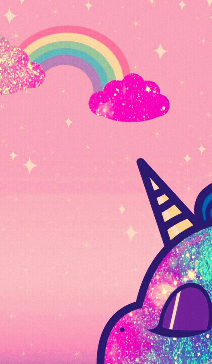 Sweet unicorn galaxy iPhone/Android wallpaper I created