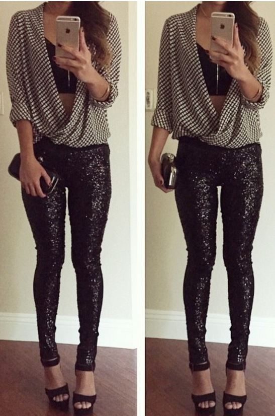 Clubbing Outfits With Leggings | www.pixshark.com - Images Galleries With A Bite!