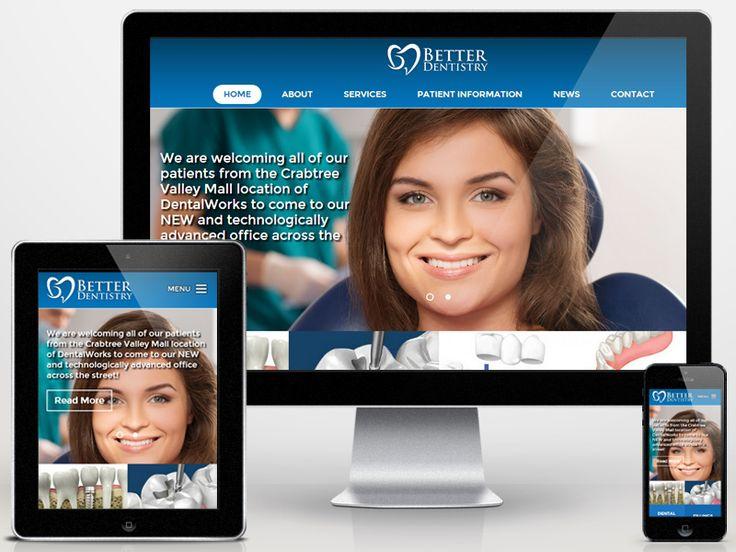 Dental Office Website Design 12 Best Cool Dental Website Designs Images On Pinterest  Dental .