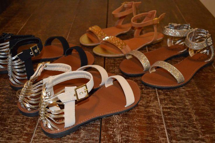 Sandals for each day of the week!  Summer sandals www.heelheaven.com.au Summer fashion  Flats