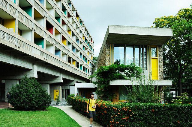 Maison du br sil student housing paris france 1958 lucio costa brazilia - Maison du bresil paris ...
