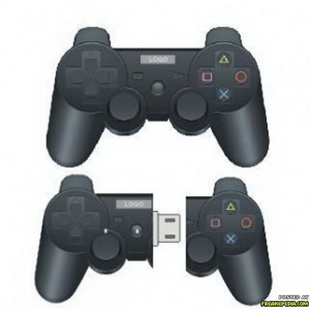 Mini Playstation Controller Usb Stick Ziet Er Erg