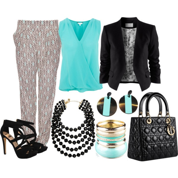 """""""Print baggy pants outfit"""" by esperanzandrea on Polyvore"""