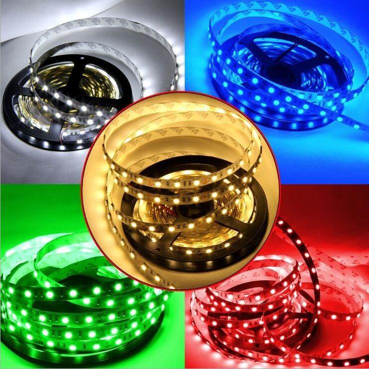 LED Strip 5050 DC 12V LED strip Flexible Light IP20 non-waterproof 60 led/m 5m RGB LED strip 5050 White/warm white/RGB