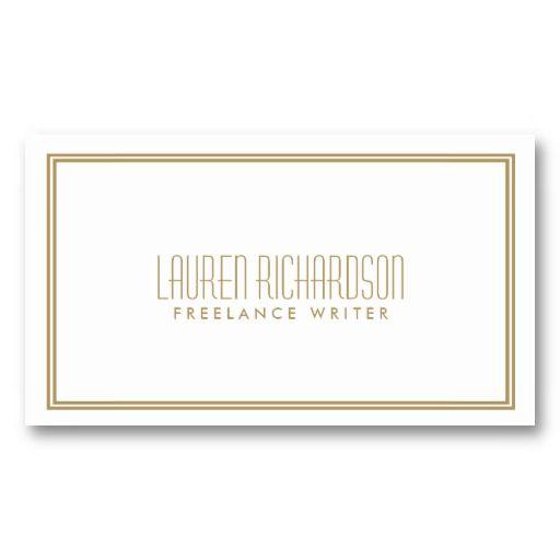 18 best art deco images on pinterest business card design simple elegance art deco style whitegold business card reheart Gallery