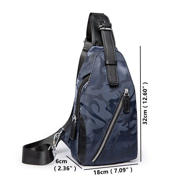 Waterproof Casual Business Sling Bag Crossbody Bag For Men is worth buying - NewChic