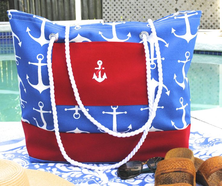 Check out our adorable Beach Bags, large enough for all your family needs, for day at beach. Please visit homebyhollyboutique.etsy.com