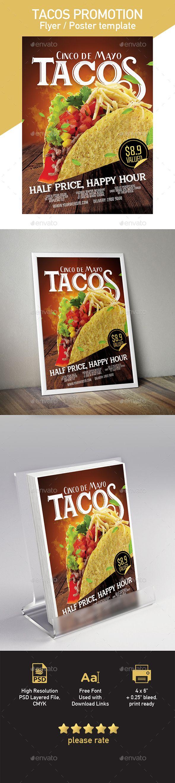 Mejores 32 imágenes de Restaurant Poster & Flyer Template en ...