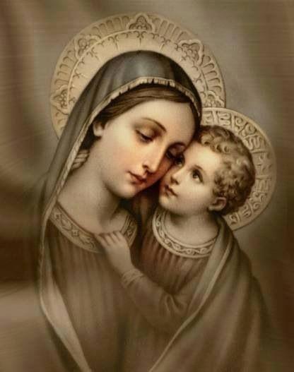 Nuestra Santa Madre María.