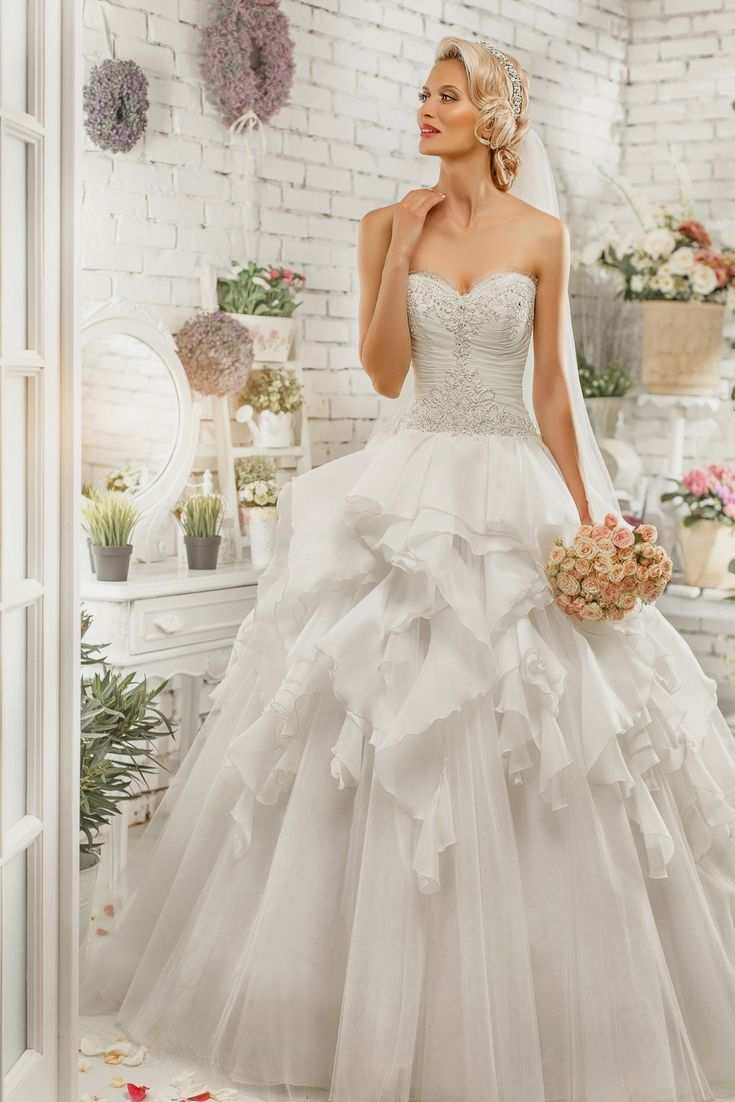 The perfect wedding dresses catalogue in search of the most recent