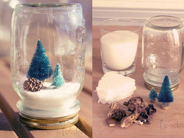 Un moderno toque vintage para la decoración navideña de este año... anímate a hacer esta propuesta....