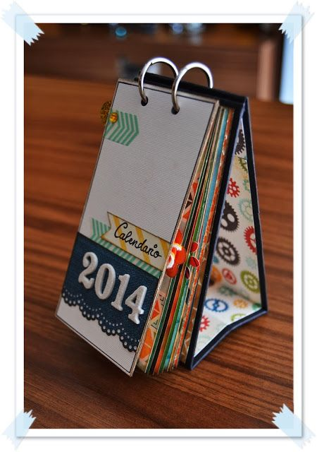 M s de 25 ideas incre bles sobre calendario en pinterest - Ideas para hacer un calendario ...