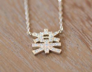 """JOY"" Necklace...& Diamonds"
