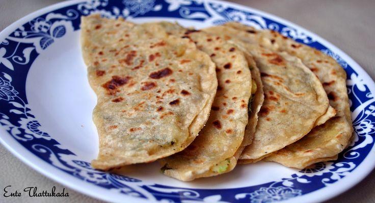 Ente Thattukada Afghani Bolani Food, Ethnic recipes