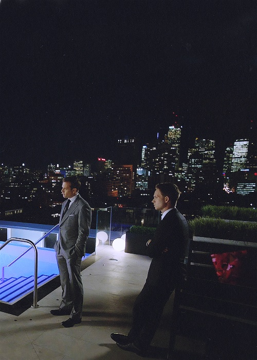 suits harvey and mike meet