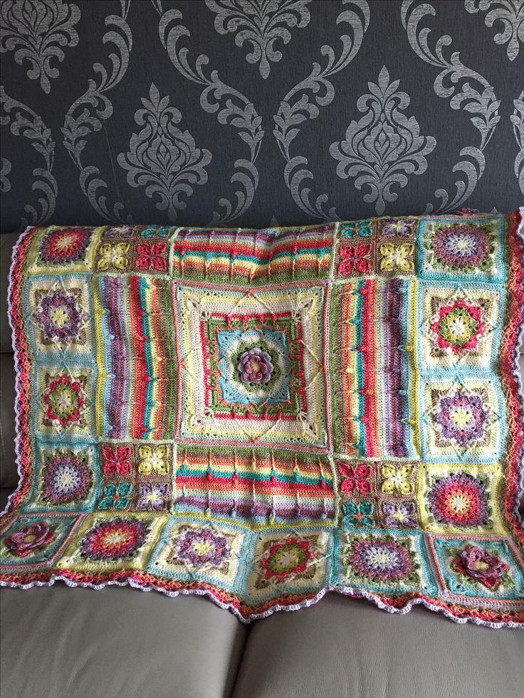 My Demelza blanket