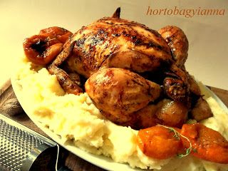 Kakukkfű: Kajszis-kakukkfüves sült csirke