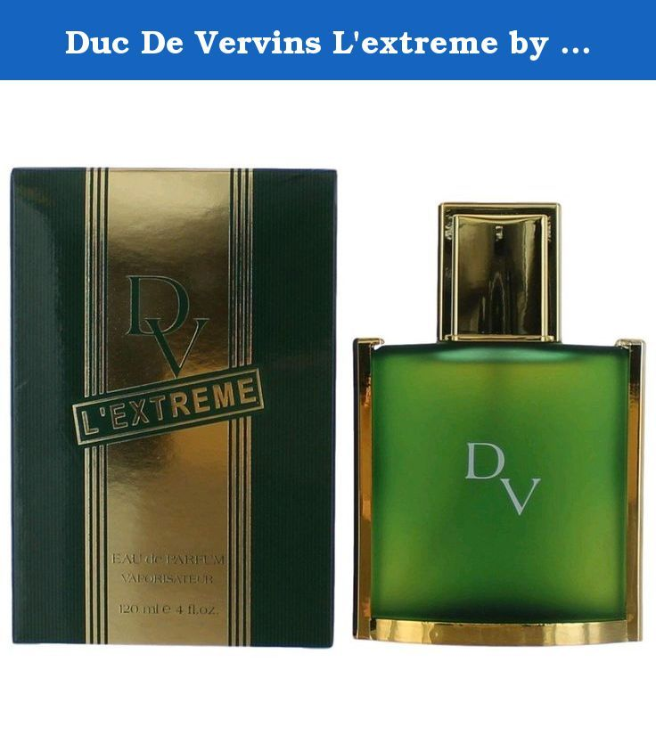 Duc De Vervins L'extreme by Houbigant for Men. Eau De Parfum Spray 4-Ounces. When applying any fragrance please consider that there are several factors which can affect the natural smell of your skin and, in turn, the way a scent smells on you. For instance, your mood, stress level, age, body chemistry, diet, and current medications may all alter the scents you wear. Similarly, factor such as dry or oily skin can even affect the amount of time a fragrance will last after being applied.