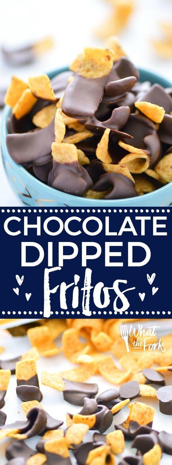 Chocolate Dipped Fritos aka Fritos Jets Recipe Easy