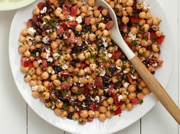 Mediterranean Chickpea Salad: Food Network, Recipe, Picnics Salad, Salad Idea, Mediterranean Chickpeas Salad, Chick Peas, Picnics Idea, 50 Picnics, Chickpea Salad