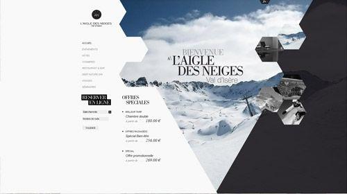 webdesign site hotel de luxe