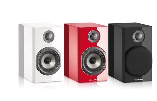 Color speakers by Triangle