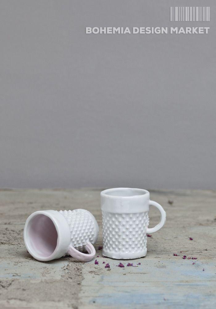 #punk #mug #original #local #czech #design  Mug created reprocessing glasses shapes of traditional Czech glass. Sizes 8x6cm