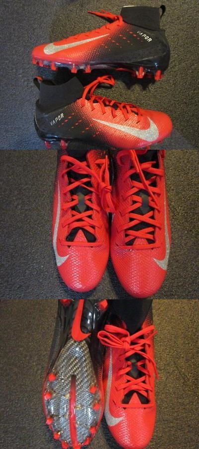 best service 53667 da0e0 Football 21214  Nike Vapor Untouchable 3 Pro Td Football Cleats 12 Black Red  Silver -  BUY IT NOW ONLY   49.45 on  eBay  football  vapor  untouchable ...