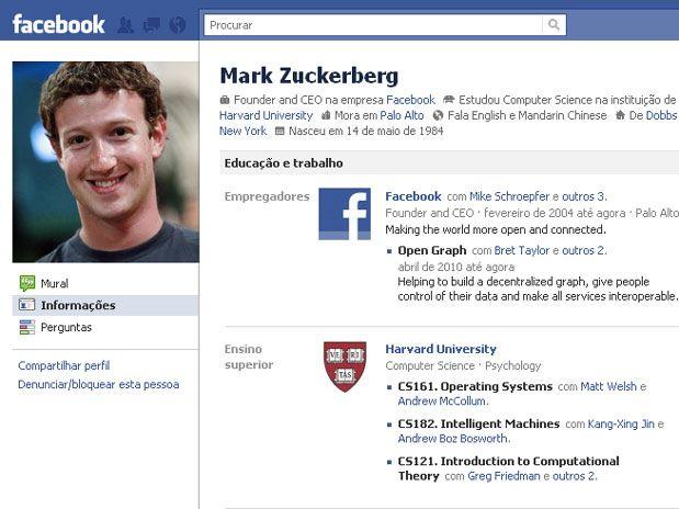 Os 10 primeiros usuários do Facebook