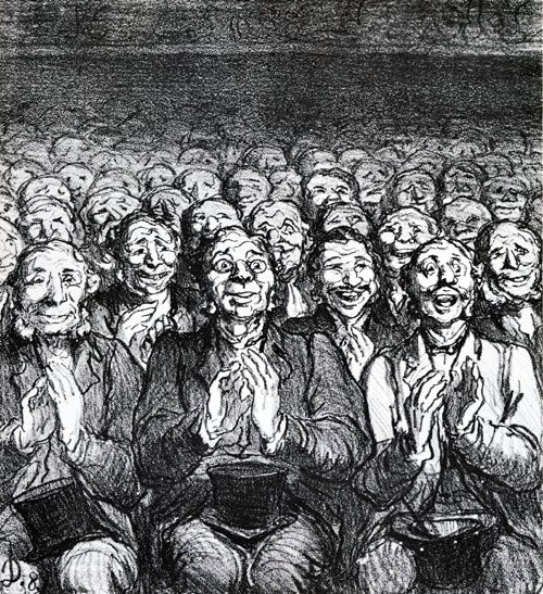 Honoré Daumier >>> A nice lithograph by the master.