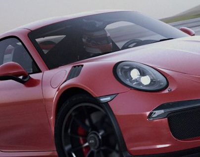 """Check out new work on my @Behance portfolio: """"911 GT3 RS"""" http://on.be.net/1JJKv5M"""