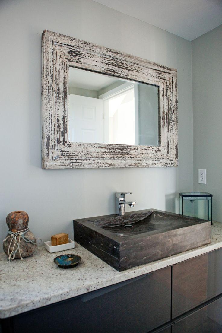 best 25 rustic chic bathrooms ideas on pinterest half bathroom remodel diy cabinet door storage and diy bathroom cabinets - Rustic Chic Bathroom Vanity