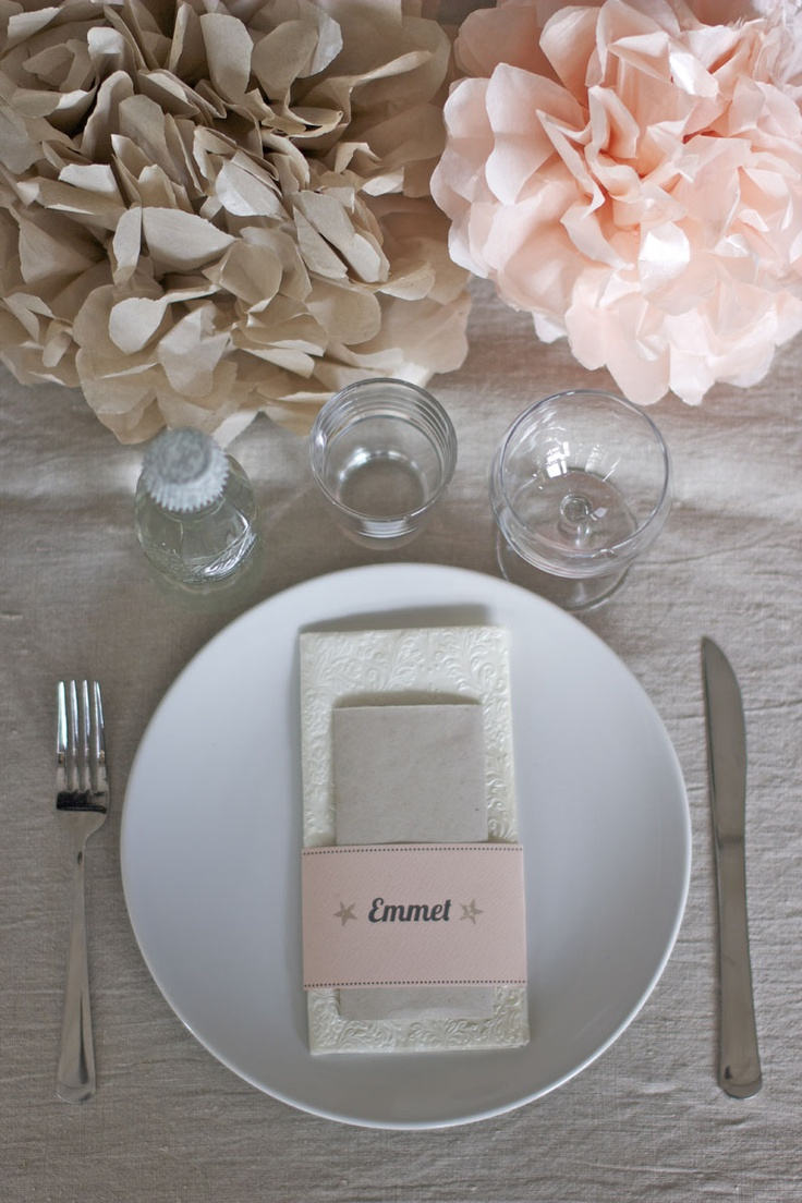 Place Card & Menu <3