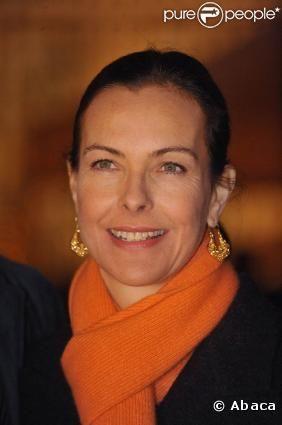 Carole Bouquet, sacrée par un Gérard le 10 mai 2010.