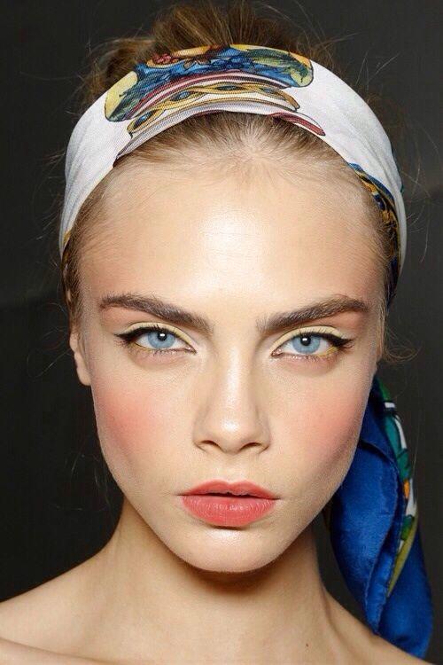 Joli maquillage pour le Printemps... #TheBeautyHours