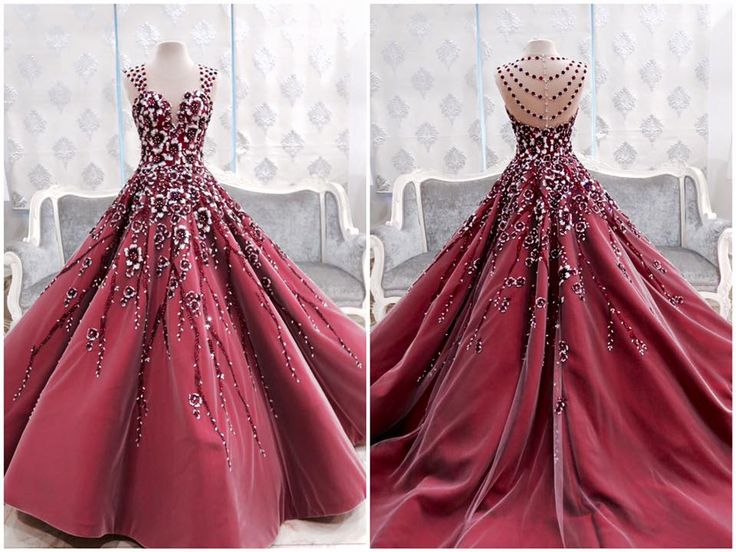 Best 25+ Red Wedding Gowns Ideas On Pinterest